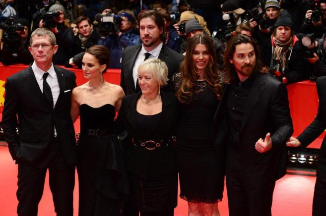 Parte del equipo de 'Knight of cups'.