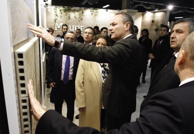 El jefe del Consell ha inaugurado el recinto de Feria Valencia en el...
