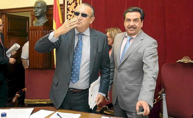 Martínez fue vicepresidente de Diputación durante los años de...