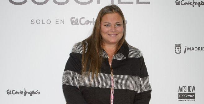 Caritina Goyanes posa en el 'photocall' como imagen de una...