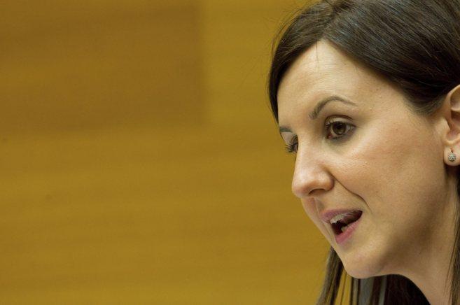 La consellera de Educación, María José Català, en una...