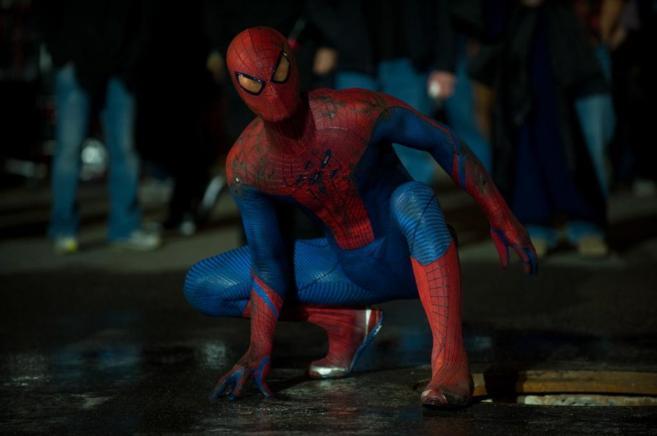 El Hombre Araña, en una de sus aventuras cinematográficas.