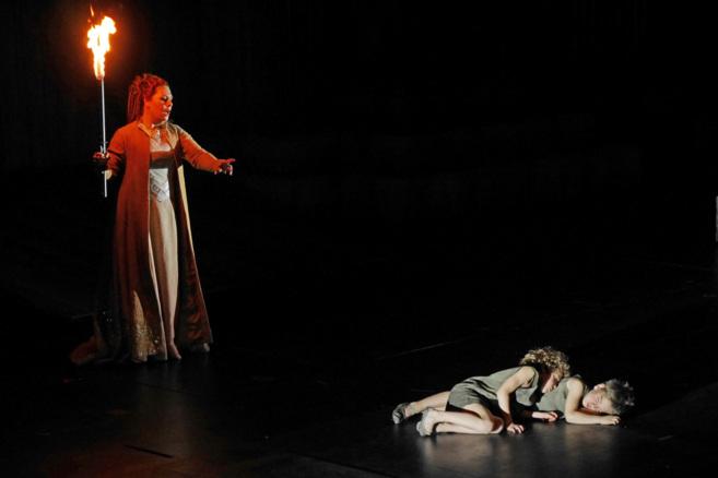 Un instante de 'Norma', estrenada el domingo en el Liceu.