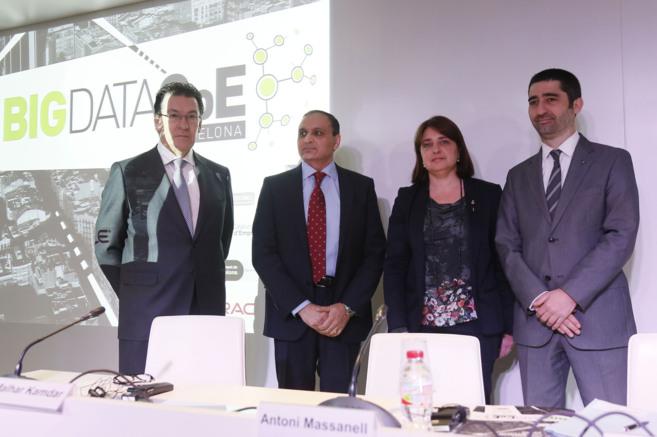Inauguración en Barcelona del nuevo centro de excelencia Big Data...