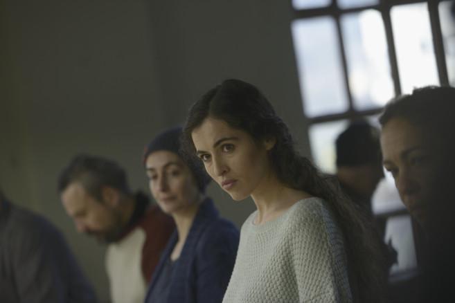 Silvia Pérez Cruz, en un momento del rodaje de 'Cerca de tu...