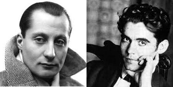 José Antonio Primo de Rivera y Federico García Lorca.