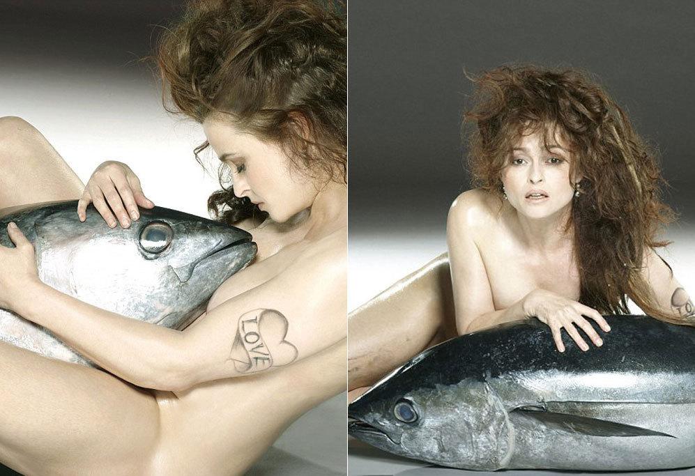 Helena Bonham Carter Posa Desnuda Por Una Buena Causa Loc El Mundo