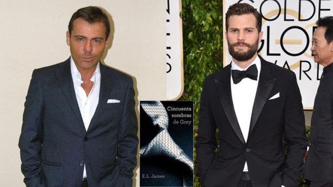 Alessandro Protos (i) y Jamie Dornan, el actor que interpreta a Mr....
