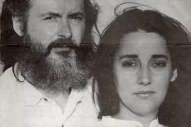 Sergio Blanco junto a su mujer, Estíbaliz.