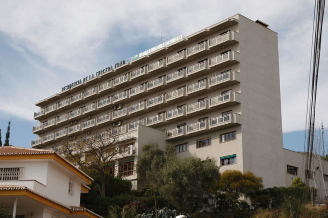 Residencia de mayores de El Palo, en la capital.