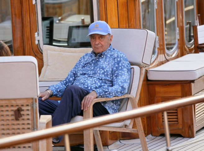 Mohamed al-Fayed en Saint Tropez, en una imagen de archivo