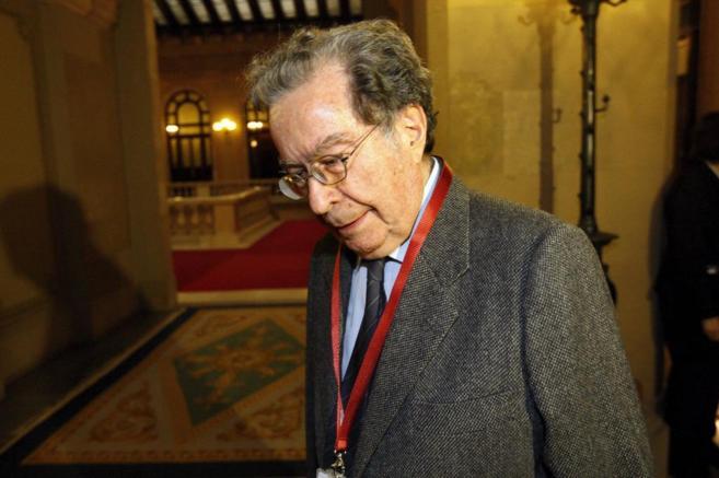 Francesc Cabana en el Parlament