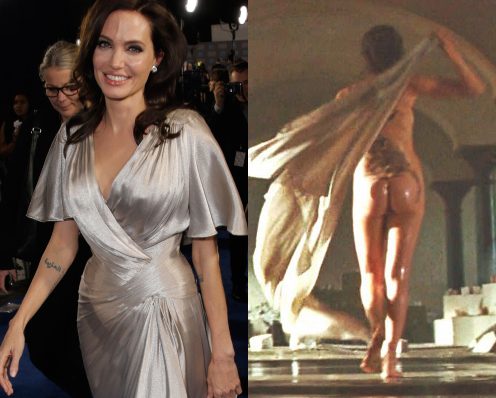 Angelina Jolie Wore A Sparkly Caftan, A Major Change
