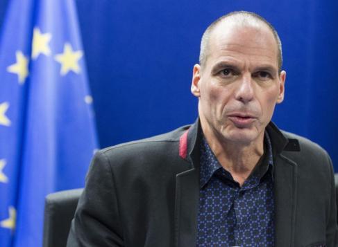 El ministro de Finanzas de Grecia, Yanis Varufakis, en una imagen...
