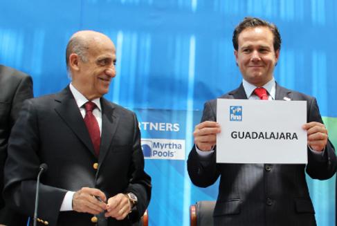 Julio Maglione, presidente de la Federación Internacional de...