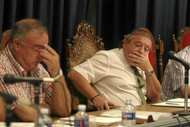 Juan Roselló y Morató (dcha.), ambos procesados en...