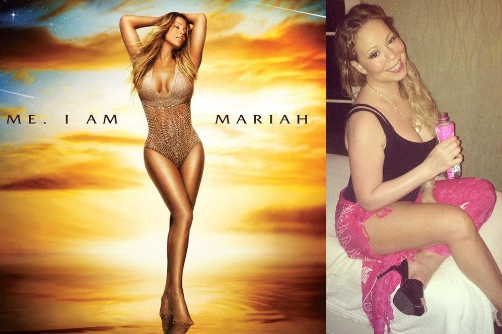 La portada del disco de Mariah Carey no puede llamarse fotografía...