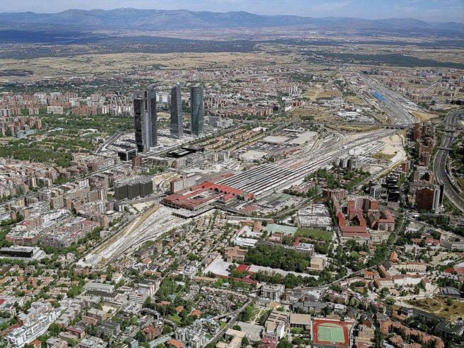 Imagen panorámica de los terrenos donde se ubicará la futura...