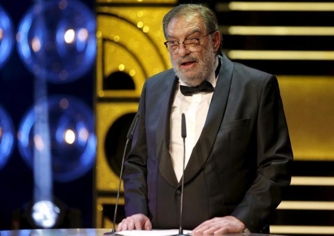 González Macho en la gala de los Goya de 2015