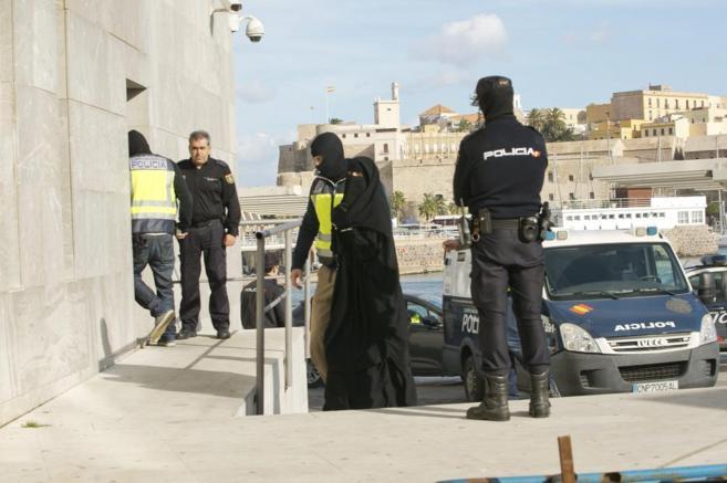 Detención de una mujer yihadista en Melilla