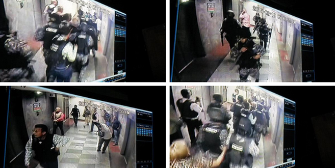 Secuencia de la detención de Antonio Ledezma recogido por las...