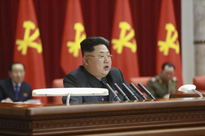 Imagen del lídfer norcoreano distribuida esta semana.