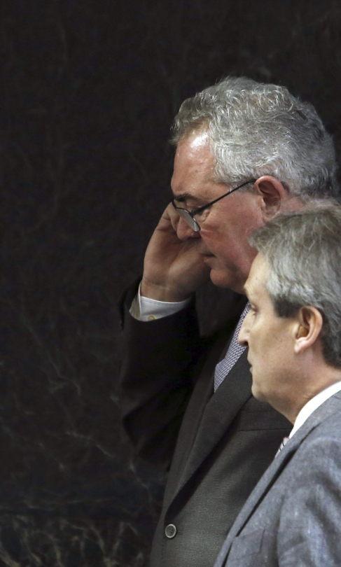 Francisco Verdú, a su llegada a la Audiencia Nacional