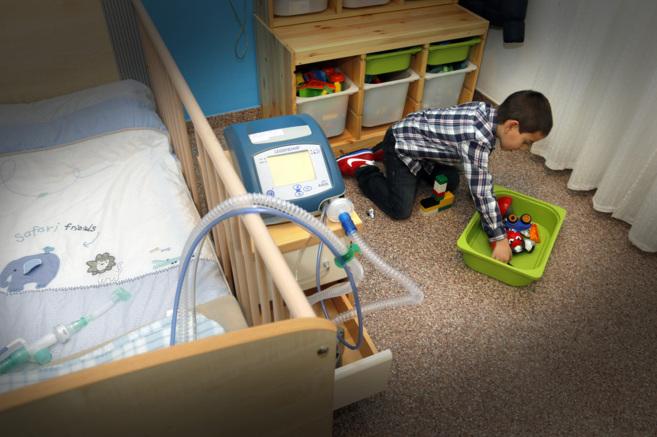 Asier tiene cuatro años y sufre el síndrome de Ondine.