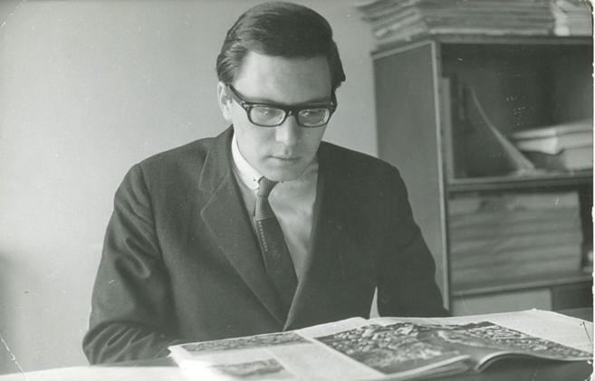 Foto de archivo de Francisco Umbral.