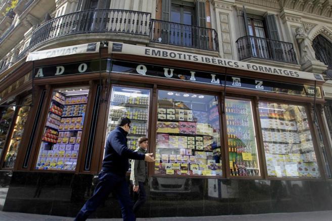 El colmado Quílez, uno de los comercios emblemáticos a los que se...