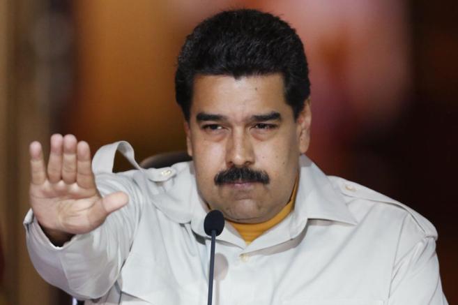 Maduro durante un discurso en el Palacio de Miraflores.