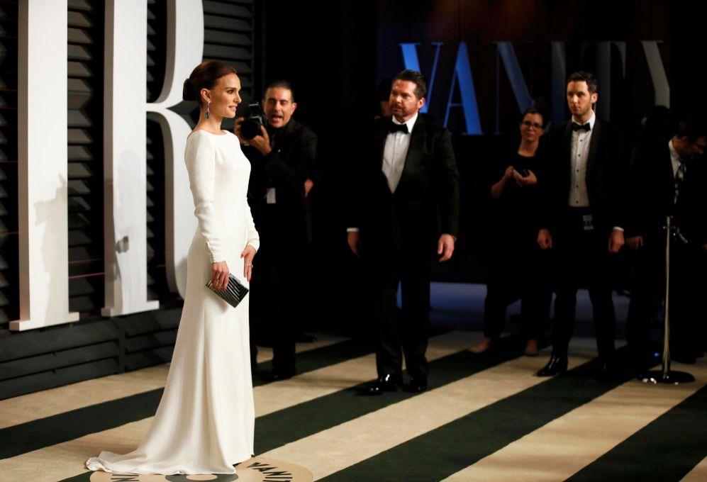 Natalie Portman posa para los fotógrafos.