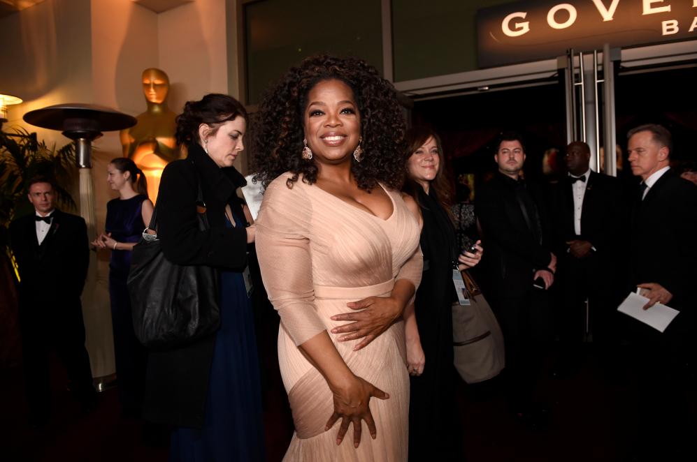 La todopoderosa e influyente Oprah Winfrey también ha acudido a la...