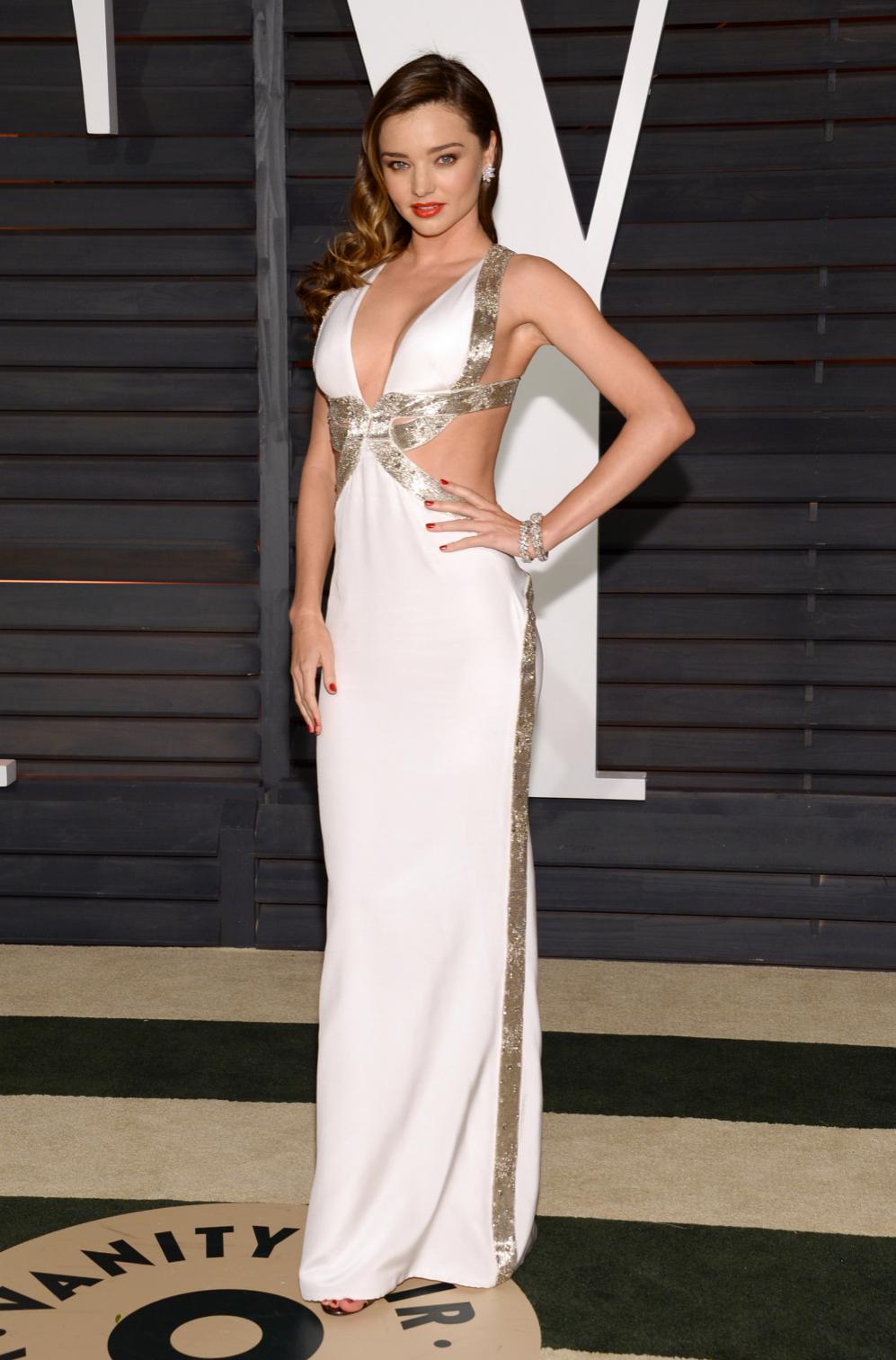Miranda Kerr, una habitual en las fiestas post Oscar, pero ahora sin...