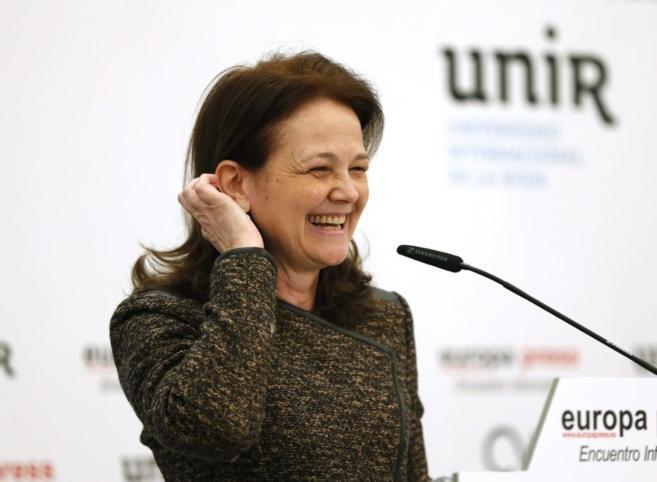 Montserrat Gomendio, en el desayuno informativo de Europa Press.