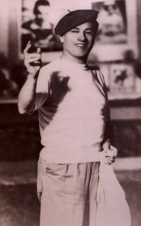 El cantaor Pepe Marchena, cuando tenía 20 años.