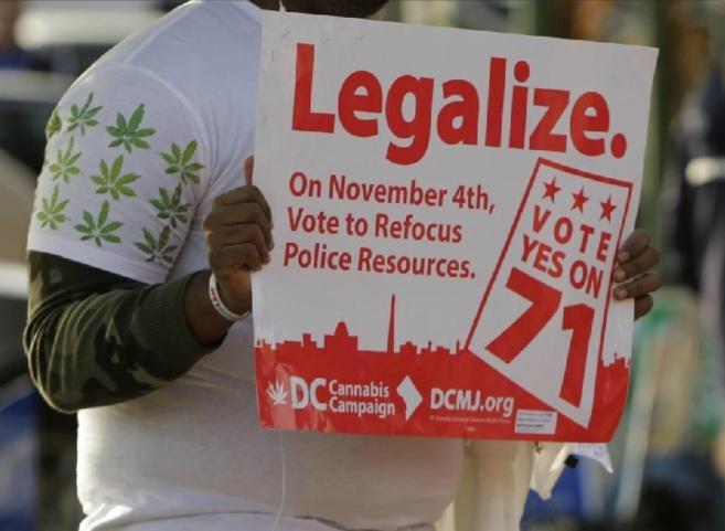 Uno de los defensores de la legalización de la marihuana en EEUU