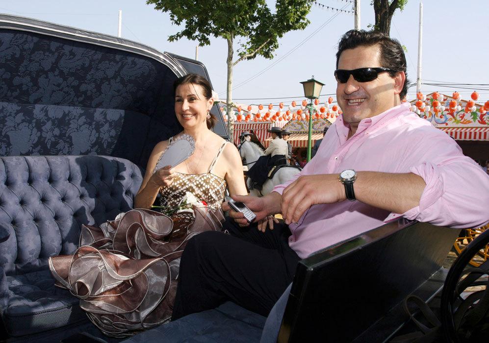 Disfrutaron, además, de un día en la Feria de Abril de Sevilla....