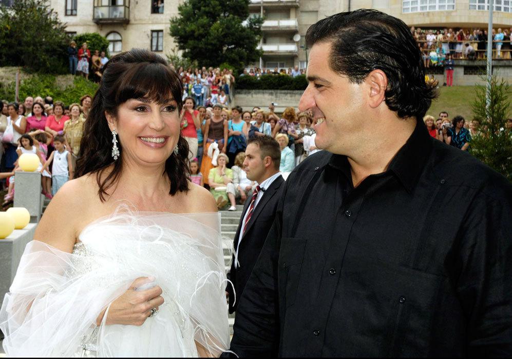 La pareja contrajo matrimonio el día 18 de junio de 2006 en Cazalla...