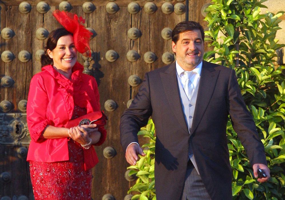 La pareja fue una de las invitadas a la boda de Rafa Medina y Laura...