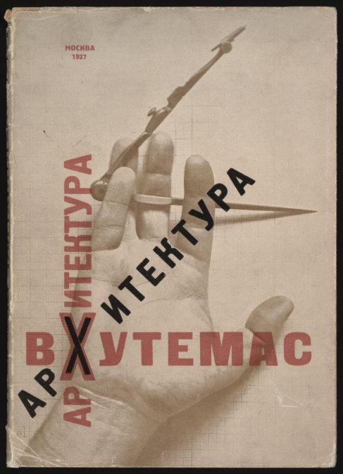 Composición tipográfica de El Lissitsky (1927).