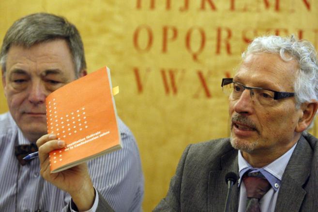 Santiago Vidal, en la presentación del proyecto de 'Constitución...