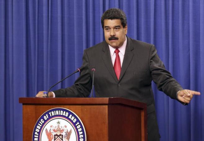 El presidente venezolano Nicolas Maduro, en una visita reciente a...