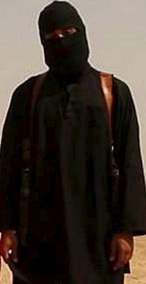 El yihadista John.