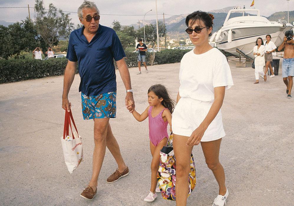 La familia se dejó ver en público en algunas ocasiones, sobretodo,...