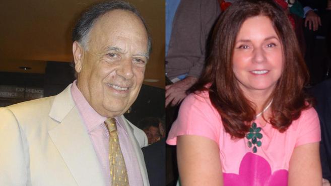 Carlos Falcó y Fátima de la Cierva, en dos imágenes tomadas por la...