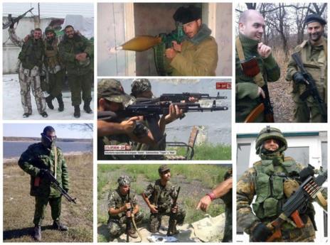 Fotografías facilitadas por el Ministerio del Interior de los ocho detenidos.