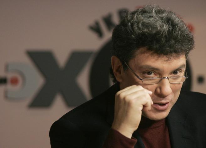 El opositor ruso, Boris Nemtsov, en una imagen tomada el jueves...