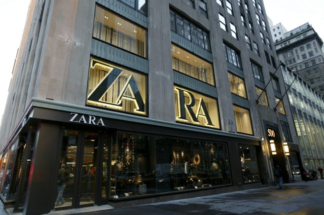 Tienda de Zara en la Quinta Avenida de Nueva York.