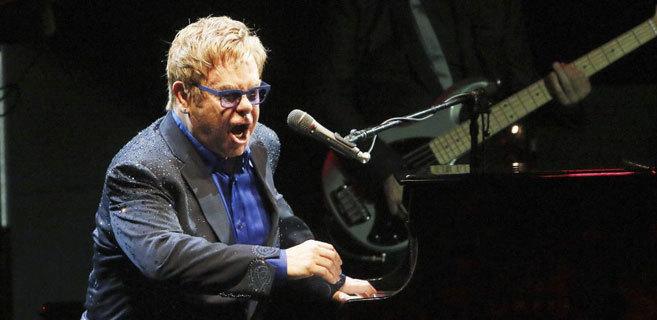 Actuación de Elton John el pasado mes de julio en el Festival de Cap...